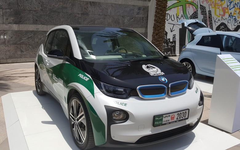 BMW-i3-Dubai-Police
