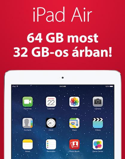 iPad Air akció
