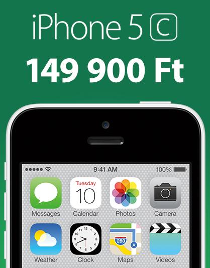iPhone 5c akció