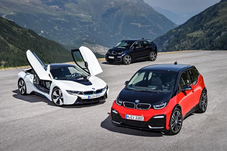 BMW elektromos autó