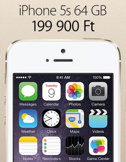 iPhone 5s akció